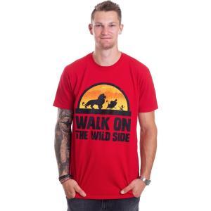 インペリコン Impericon メンズ Tシャツ トップス - Walk On The Wild Side Red - T-Shirt red|fermart-hobby