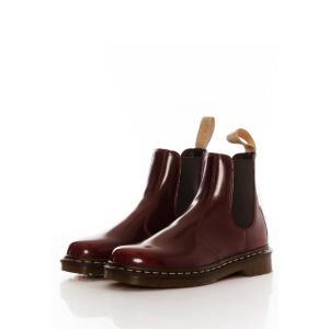 ドクターマーチン Dr. Martens メンズ ブーツ チェルシーブーツ シューズ・靴 - Vegan 2976 Chelsea Boots Cherry Red Oxford Rub Off - Shoes burgundy|fermart-hobby