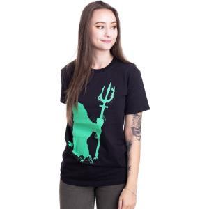インペリコン Impericon レディース Tシャツ トップス - Silhouette - T-Shirt black|fermart-hobby