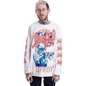 インペリコン Impericon メンズ トップス - Leprosy Blue/Red White - Longsleeve white|fermart-hobby