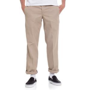 ディッキーズ Dickies メンズ スキニー・スリム ワークパンツ ボトムス・パンツ - Slim Straight Work 873 Khaki - Pants beige|fermart-hobby