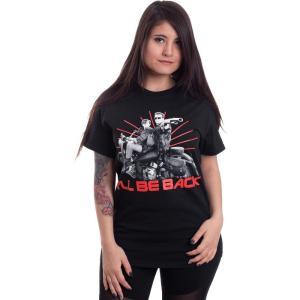 インペリコン Impericon レディース Tシャツ トップス - I'll Be Back - T-Shirt black|fermart-hobby