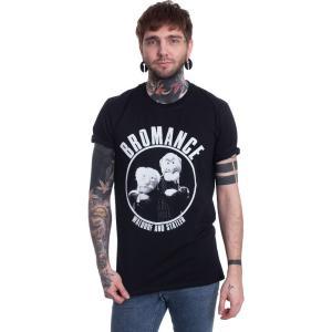 インペリコン Impericon メンズ Tシャツ トップス - Waldorf And Statler Bromance - T-Shirt black|fermart-hobby
