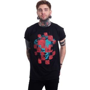 インペリコン Impericon メンズ Tシャツ トップス - Collage - T-Shirt black|fermart-hobby