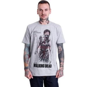 インペリコン Impericon メンズ Tシャツ トップス - Target Male Walker Grey - T-Shirt grey|fermart-hobby