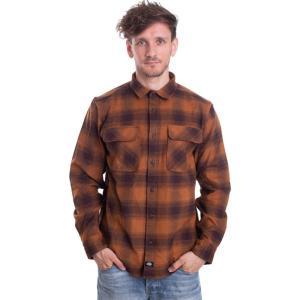 ディッキーズ Dickies メンズ シャツ トップス - Waneta Brown Duck - Shirt brown fermart-hobby