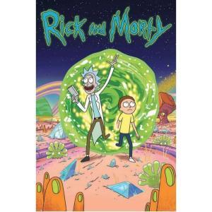 リック&モーティ Rick And Morty グッズ Portal Poster multicolored fermart-hobby