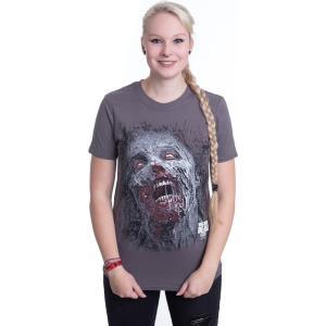インペリコン Impericon レディース Tシャツ トップス - Jumbo Walker Face - T-Shirt black|fermart-hobby