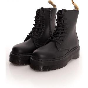 ドクターマーチン Dr. Martens レディース ブーツ シューズ・靴 - Vegan Jadon Ii Mono Black Felix Rub Off Black black|fermart-hobby