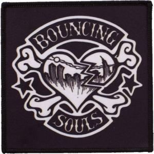 バウンシング ソウルズ The Bouncing Souls ユニセックス 雑貨 Rocker Heart Patch black|fermart-hobby