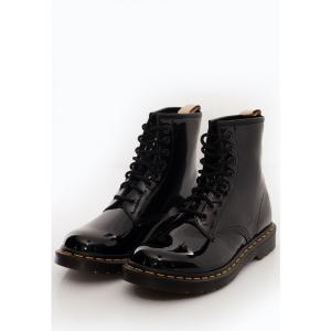 ドクターマーチン Dr. Martens レディース ブーツ シューズ・靴 - Vegan 1460 Black Opaline black|fermart-hobby