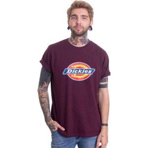 ディッキーズ Dickies メンズ Tシャツ トップス - Horseshoe Maroon - T-Shirt burgundy|fermart-hobby