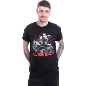 インペリコン Impericon メンズ Tシャツ トップス - I'll Be Back - T-Shirt black|fermart-hobby