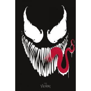 ヴェノム Venom グッズ Face Poster black|fermart-hobby