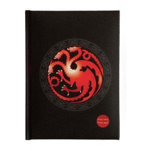 ゲーム オブ スローンズ Game Of Thrones グッズ Targaryen With Light Notebook black|fermart-hobby