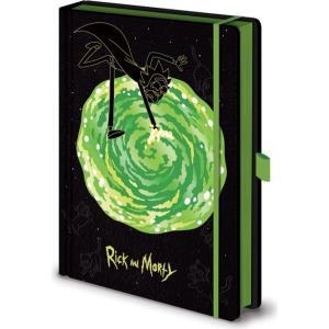 リック&モーティ Rick And Morty グッズ Portals Notebook black fermart-hobby