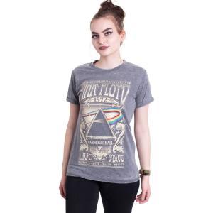 インペリコン Impericon レディース Tシャツ トップス - Carnegie Hall Burnout Grey - T-Shirt grey|fermart-hobby