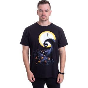 インペリコン Impericon メンズ Tシャツ トップス - Cemetery Moon - T-Shirt black|fermart-hobby
