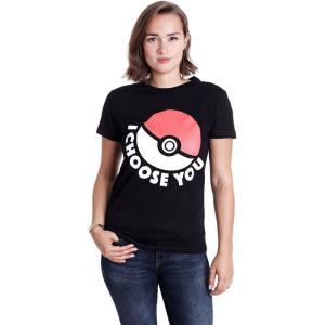 インペリコン Impericon レディース Tシャツ トップス - I Choose You - T-Shirt black|fermart-hobby