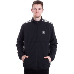 アディダス Adidas メンズ ジャケット アウター Class Action Black/White Track Jacket black|fermart-hobby
