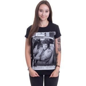 インペリコン Impericon レディース Tシャツ トップス - Hasselhoff In - T-Shirt black fermart-hobby