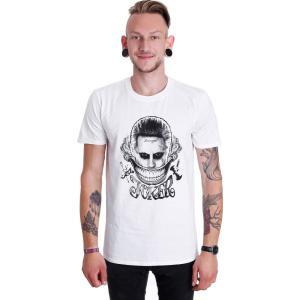 インペリコン Impericon メンズ Tシャツ トップス - Joker Face White - T-Shirt white fermart-hobby
