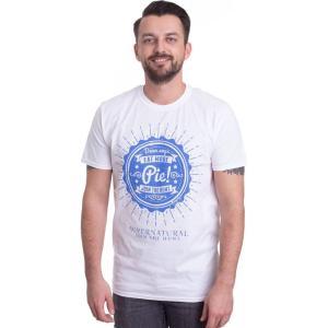 インペリコン Impericon メンズ Tシャツ トップス - Eat More Pie! White - T-Shirt white|fermart-hobby