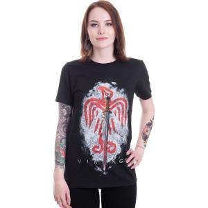 インペリコン Impericon レディース Tシャツ トップス - Raven Sword - T-Shirt black|fermart-hobby