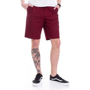 インペリコン Impericon メンズ ショートパンツ ボトムス・パンツ - Worker Straight 20.5 Cabernet - Shorts burgundy fermart-hobby