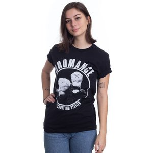 インペリコン Impericon レディース Tシャツ トップス - Waldorf And Statler Bromance - T-Shirt black|fermart-hobby