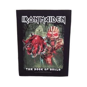 アイアン メイデン Iron Maiden グッズ Eddie's Heart Backpatch black|fermart-hobby