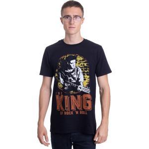 インペリコン Impericon メンズ Tシャツ トップス - The King Of Rock 'N Roll - T-Shirt black|fermart-hobby