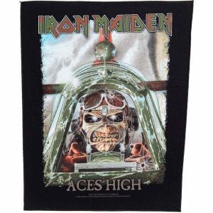 アイアン メイデン Iron Maiden グッズ Aces High Backpatch black|fermart-hobby