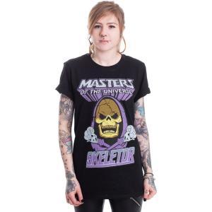 インペリコン Impericon レディース Tシャツ トップス - Skeletor - T-Shirt black|fermart-hobby