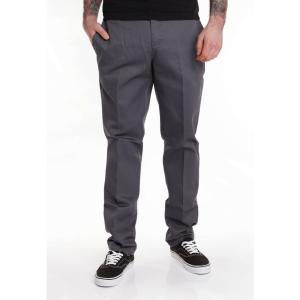 ディッキーズ Dickies メンズ スキニー・スリム ワークパンツ ボトムス・パンツ - Slim Fit Work 872 Charcoal Grey - Pants grey|fermart-hobby