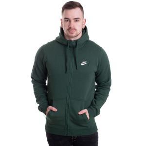 ナイキ Nike メンズ パーカー トップス Sportswear Fir/Fir/White Zipper green fermart-hobby