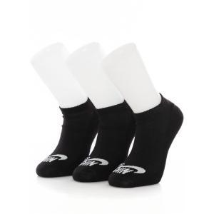 ナイキ Nike ユニセックス ソックス インナー・下着 SB No-Show Pair of 3 Black/White Socks black|fermart-hobby