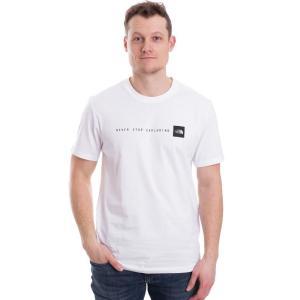 ザ ノースフェイス The North Face メンズ Tシャツ トップス NSE TNF White/TNF Black T-Shirt white|fermart-hobby