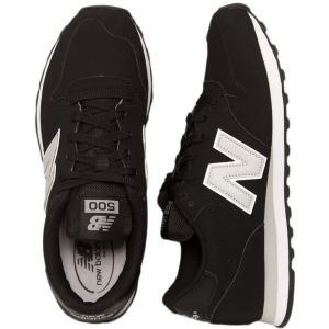ニューバランス New Balance メンズ スニーカー シューズ・靴 GM500 D Black/Grey Shoes black|fermart-hobby
