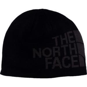 ザ ノースフェイス The North Face ユニセックス ニット ビーニー 帽子 - Reversible TNF Banner TNF Black/Asphalt Grey Logo - Beanie black|fermart-hobby