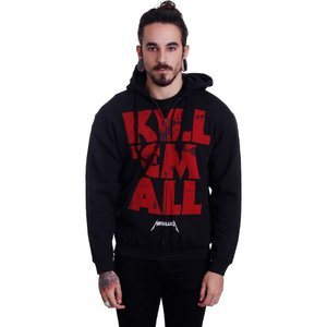 メタリカ Metallica メンズ パーカー トップス Kill 'Em All Mutated Zipper black|fermart-hobby