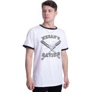 インペリコン Impericon メンズ Tシャツ トップス - Negan's Saviors White - T-Shirt white|fermart-hobby