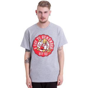 ア デイ トゥ リメンバー A Day To Remember メンズ Tシャツ トップス Phoenix Crest Sportsgrey T-Shirt grey|fermart-hobby