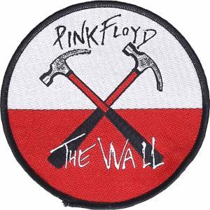 ピンクフロイド Pink Floyd グッズ - The Wall - Patch black|fermart-hobby