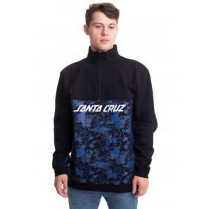 サンタクルーズ Santa Cruz メンズ スウェット・トレーナー トップス - Astro 1/4 Black/Splatter - Sweater black|fermart-hobby