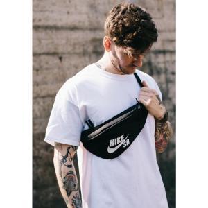 ナイキ Nike ユニセックス ボディバッグ・ウエストポーチ バッグ - SB Heritage Black/White - Hip Bag black|fermart-hobby