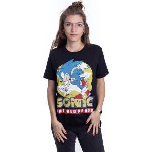 インペリコン Impericon レディース Tシャツ トップス - Hedgehog - T-Shirt black|fermart-hobby