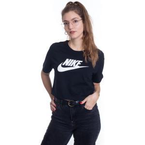 ナイキ Nike レディース Tシャツ トップス - Sportswear Essential Black/White - T-Shirt|fermart-hobby