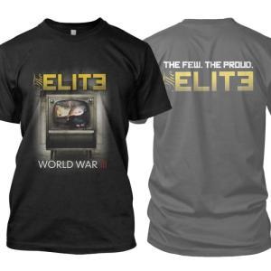 ジ エリート The Elite メンズ Tシャツ トップス WWIII t-shirt Black fermart-hobby
