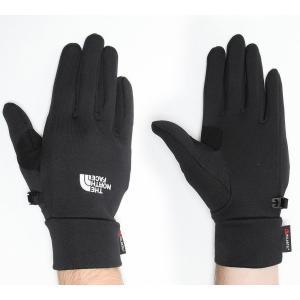 ザ ノースフェイス メンズ 手袋・グローブ Powerstretch Glove Black|fermart-hobby